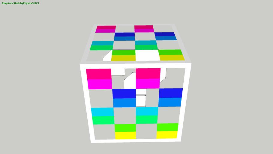 Mario Kart Ds Item Box Sketchyphysics 3d Warehouse