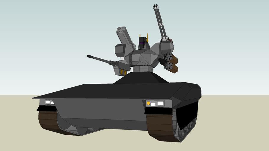 Robot mech tank