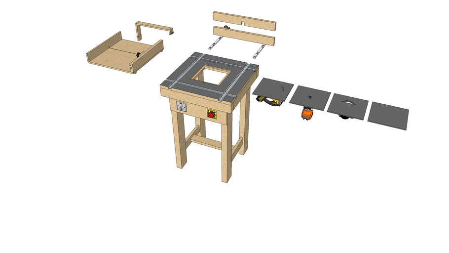 Power Tools Multi Workbench