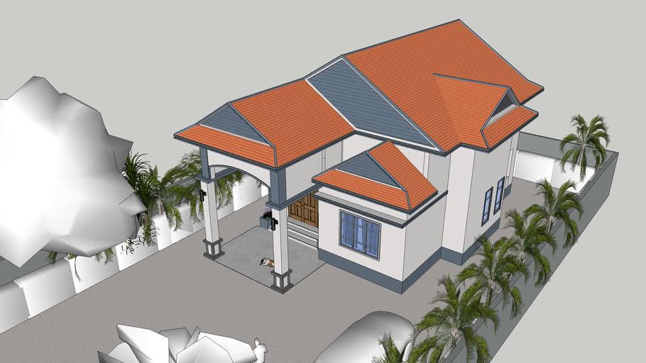 Khmer House    វីឡាតឿ       #គូដោយ_ប្រូ_នាម