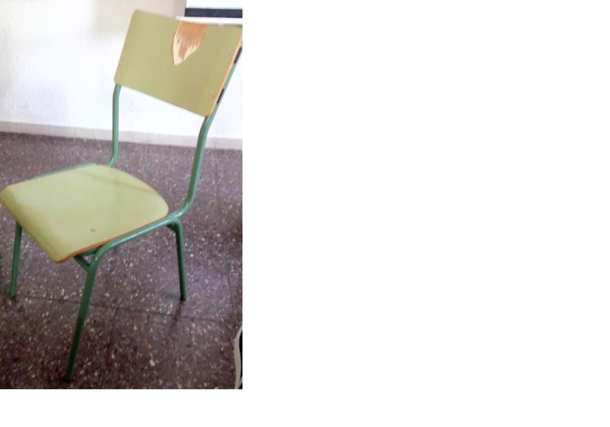 silla colecion escolar