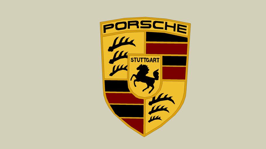 Porsche Logo 3d Warehouse