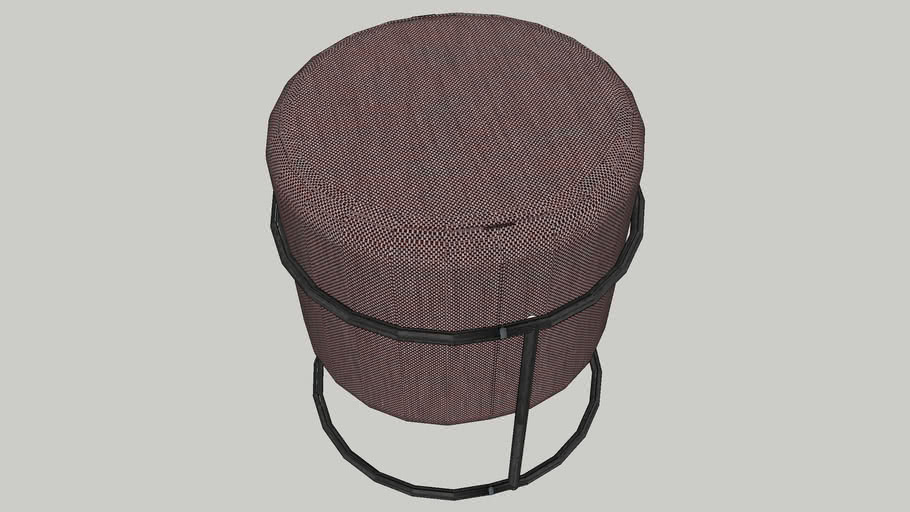 Drop small footstool by COR