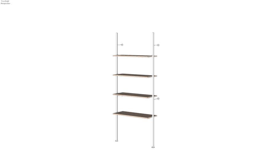 Palo - Base Unit - for 4 shelves
