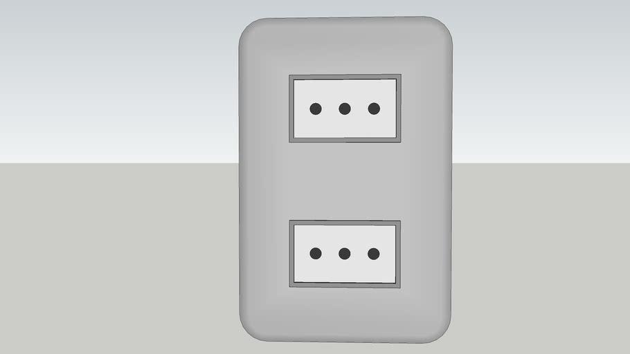 Enchufe doble  / Double plug