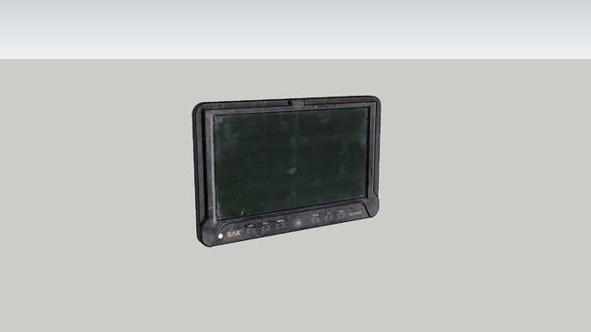 Mini-Tv BAK 7' LCD digital (television)
