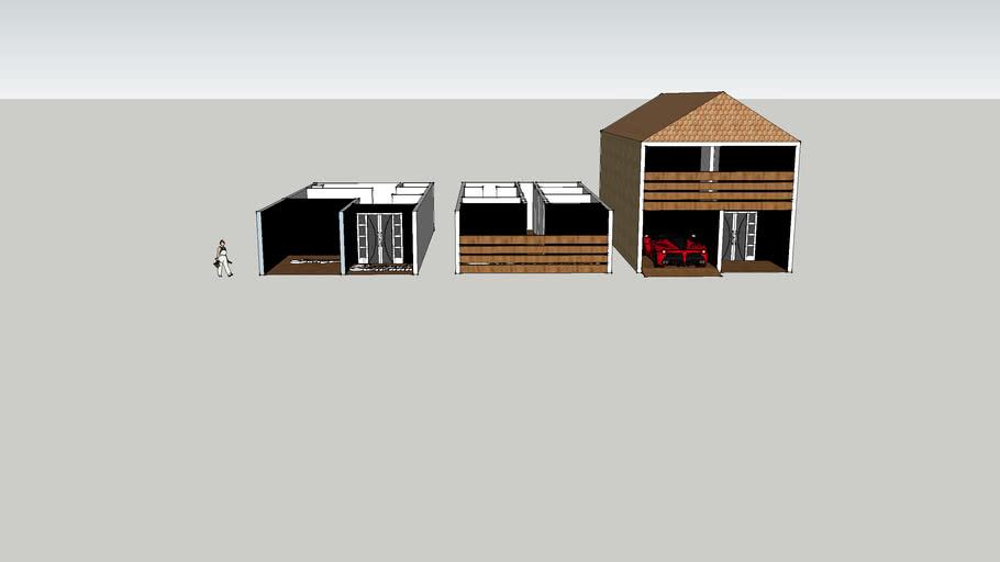 Casa de 2 andares dentro e fora  Arthur 3D !!!