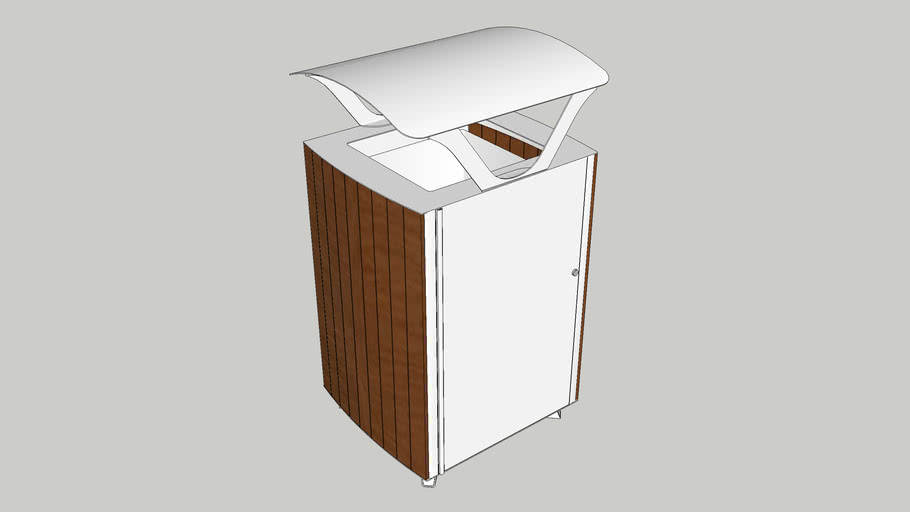 Elevation 45 Gallon Thermory Receptacle