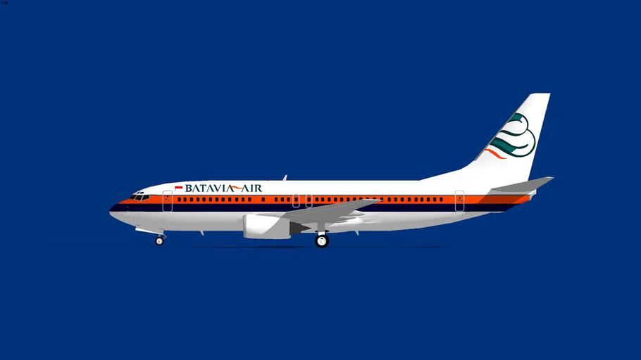 Batavia Air Boeing 737-400 1