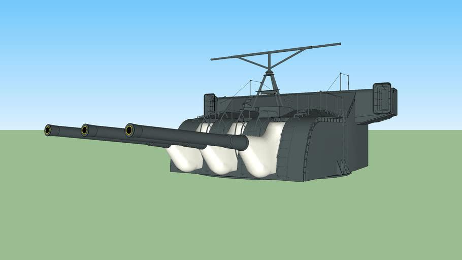 戦艦大和 15㎝副砲