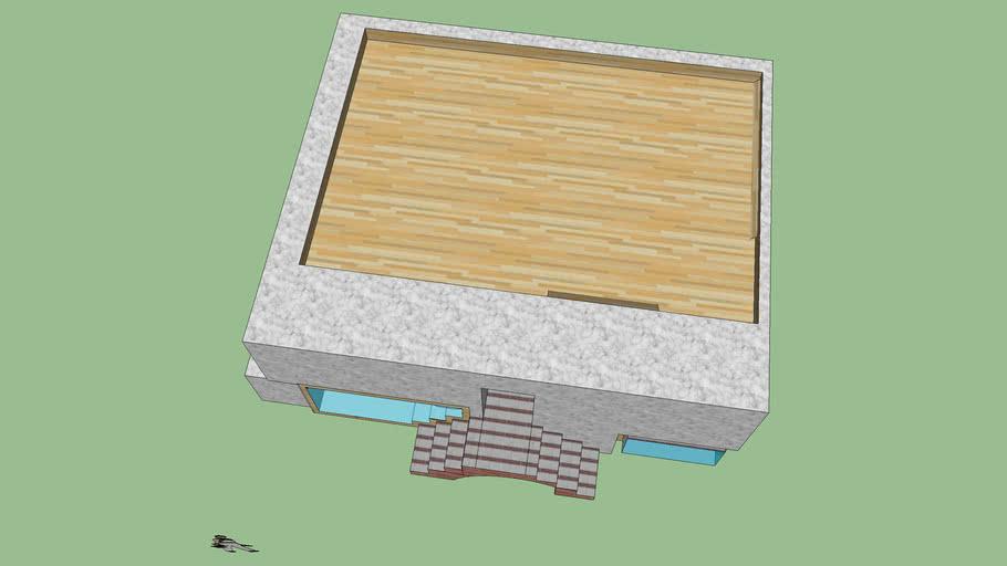 Modelado 3D de una casa