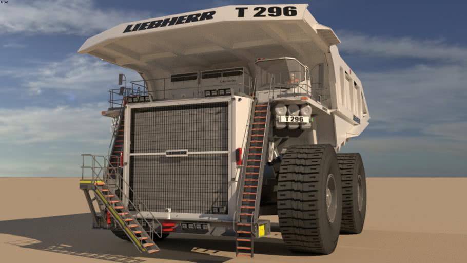 LIEBHERR T296 mining truck