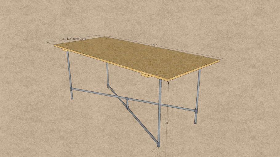 table legs for inner sunset sundays