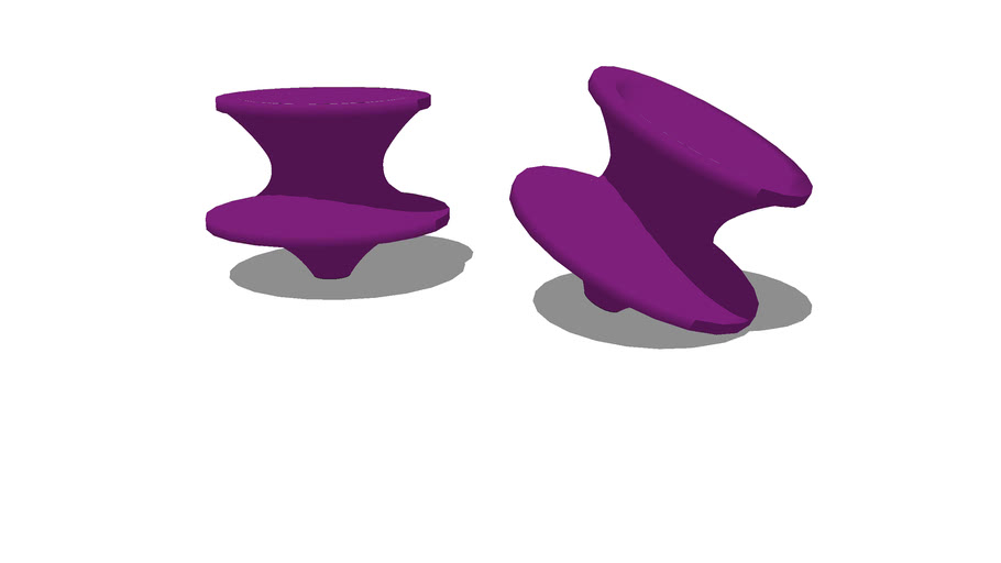 Spun chair, Heatherwick
