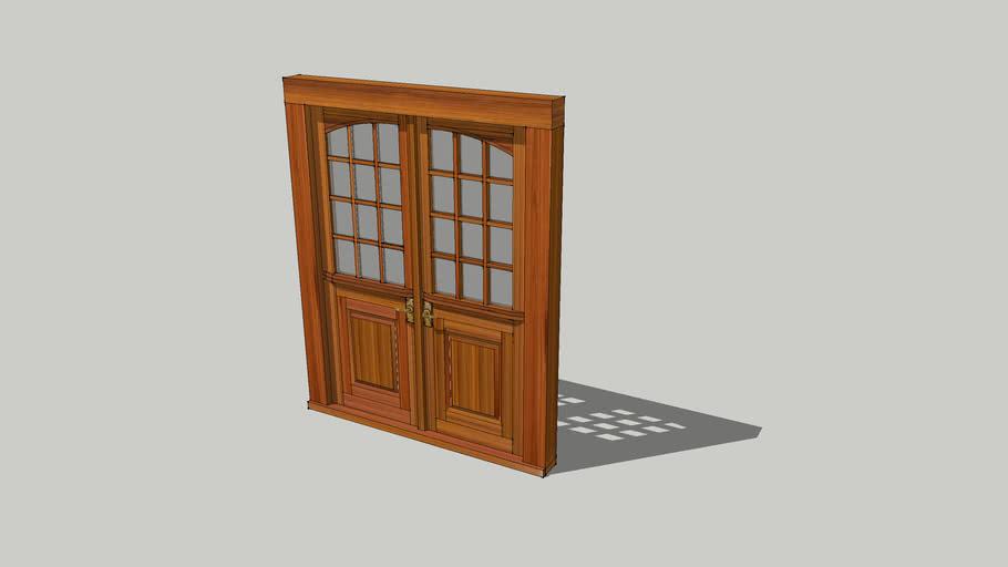 Exterior Double Dutch Door 3d Warehouse
