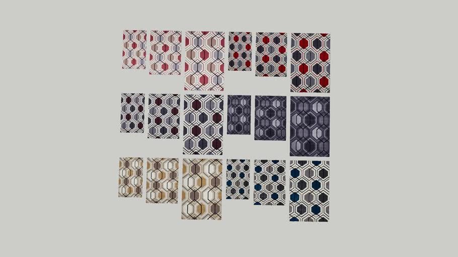 Geometric Rugs - Set