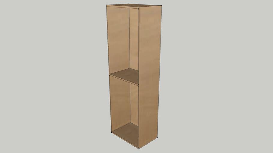IKEA BESTA Shelf unit 60x40x192 beech