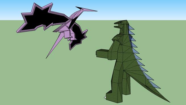 Godzilla vs Raven