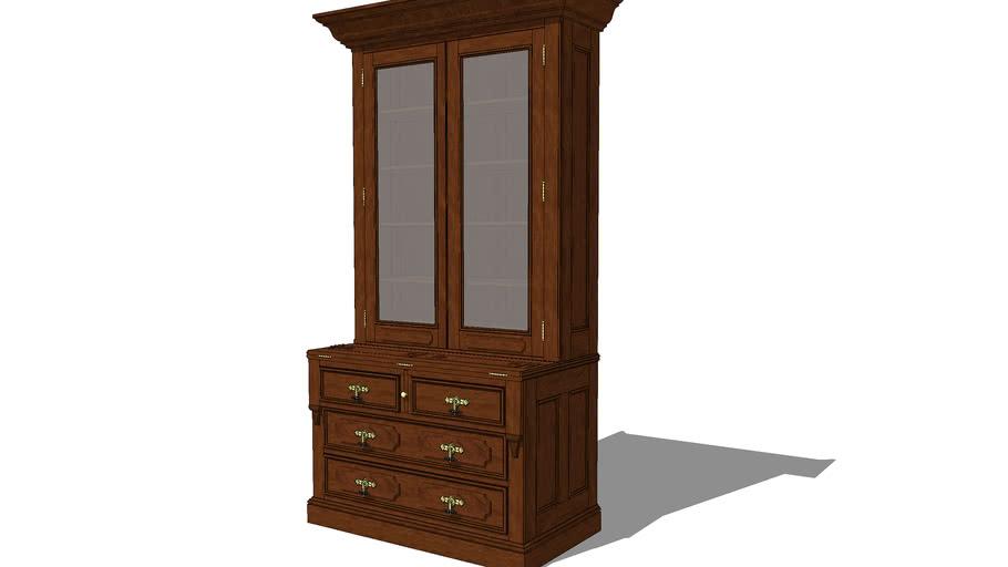 Victorian Secretary Bookcase
