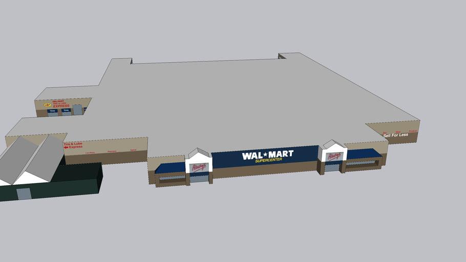 Walmart Supercenter remodel 2951 S Blue Angel Pkwy 32506 taken 2/14/07-12/15/09