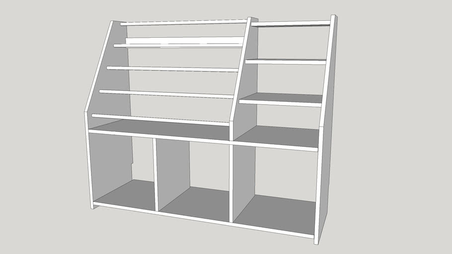 bookcase with shelf