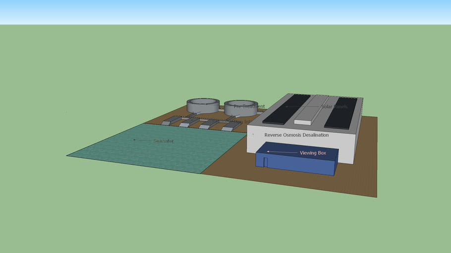 Reverse Osmosis Plant Structure (Sketch 1)
