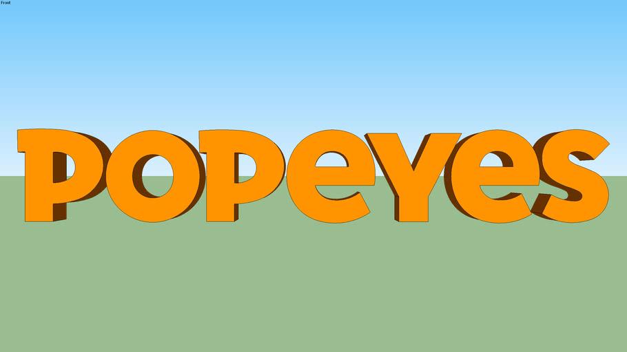 Popeyes logo 2019