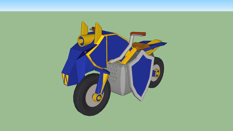 Mastercycle Mariokart 8 Vehicle