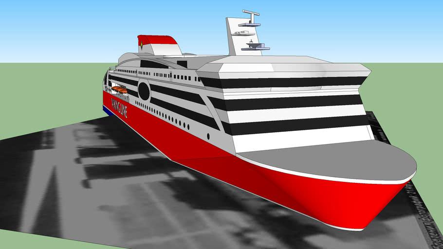 viking line in tallinn port
