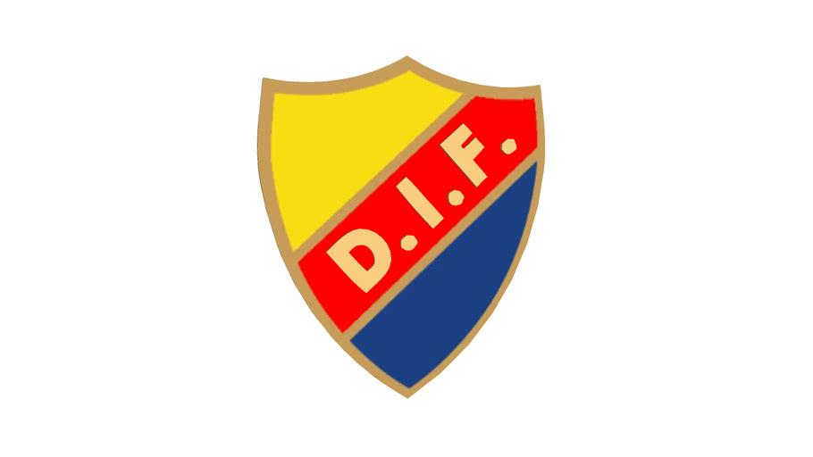 logo football Djurgårdens IF.Stockholm