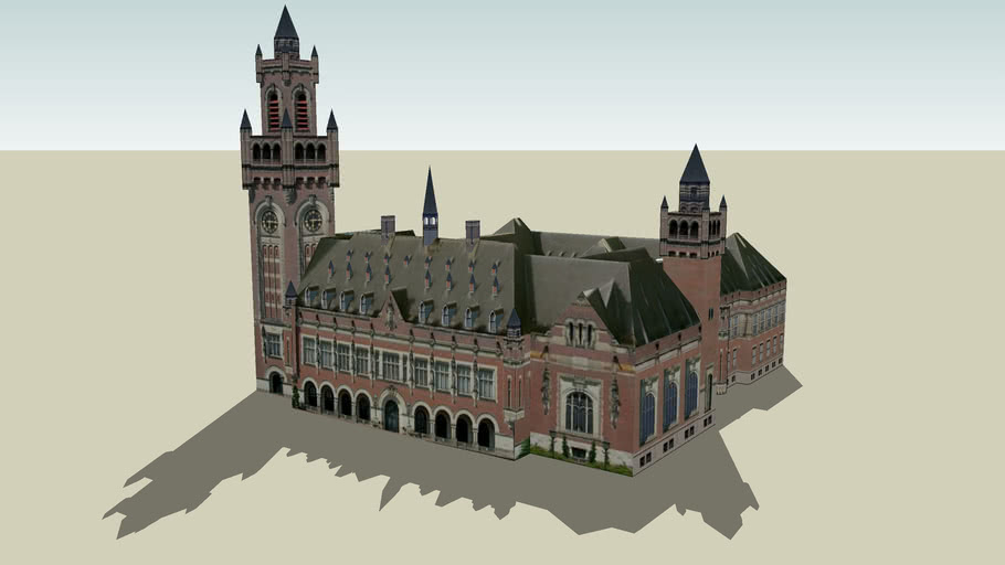 Vredespaleis (Peace Palace), Den Haag