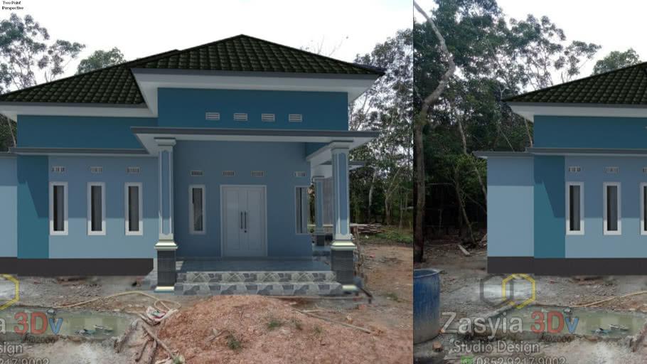 Rumah  Minimalis  Bu Rini Hartati (Macthing Photo)