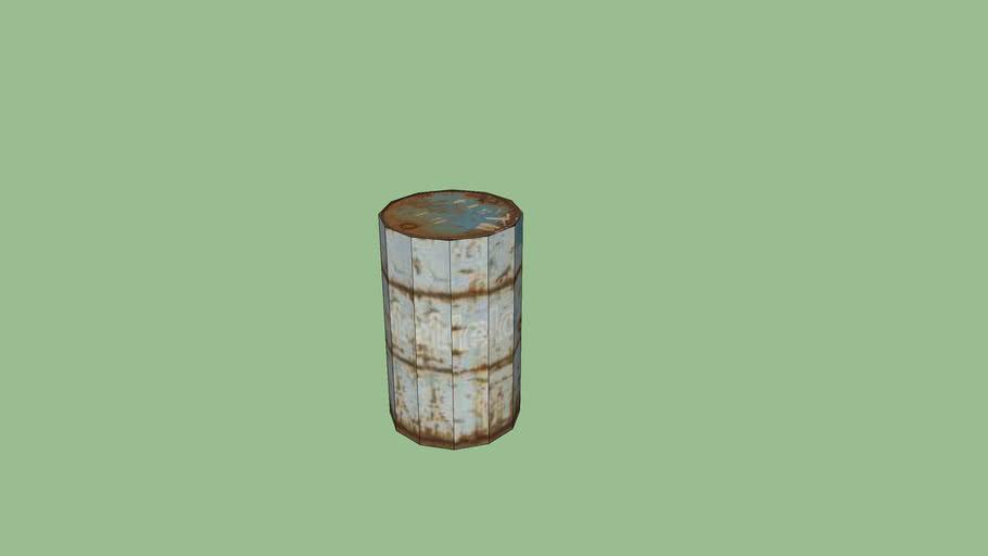 Barrel lowpoly