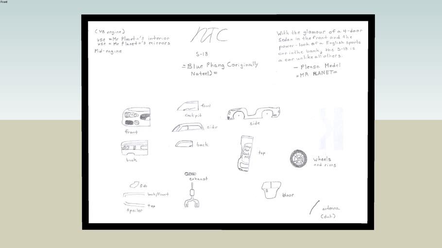 NTC S-18 Blueprints