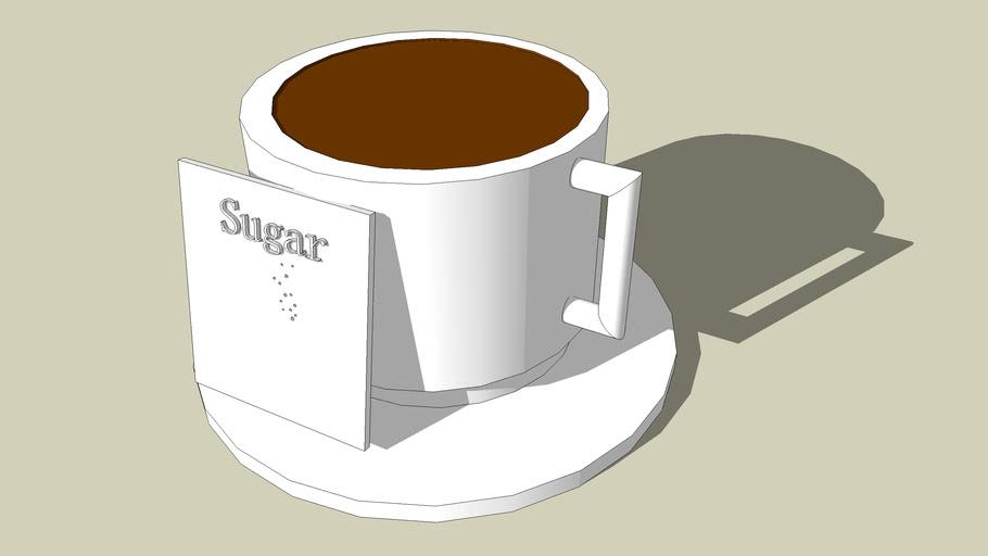 Ilaria - A Coffee/chocolate cup