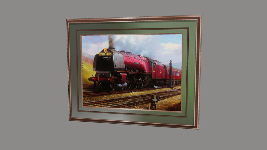 """""""ROYAL SCOT""""... Famouse Paintings of Loco's 1.. of.. 12.."""