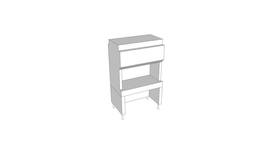 L2320 - Cabinet, Bio Safety, Class II-B1, FS, Vert, 4ft