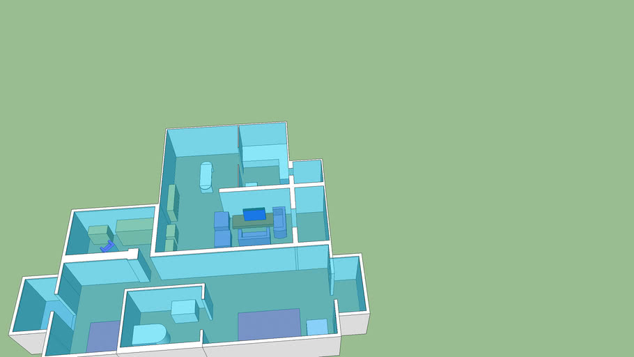 室内平面模型