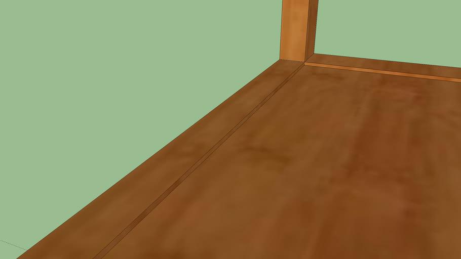 Wood Chair Science Room