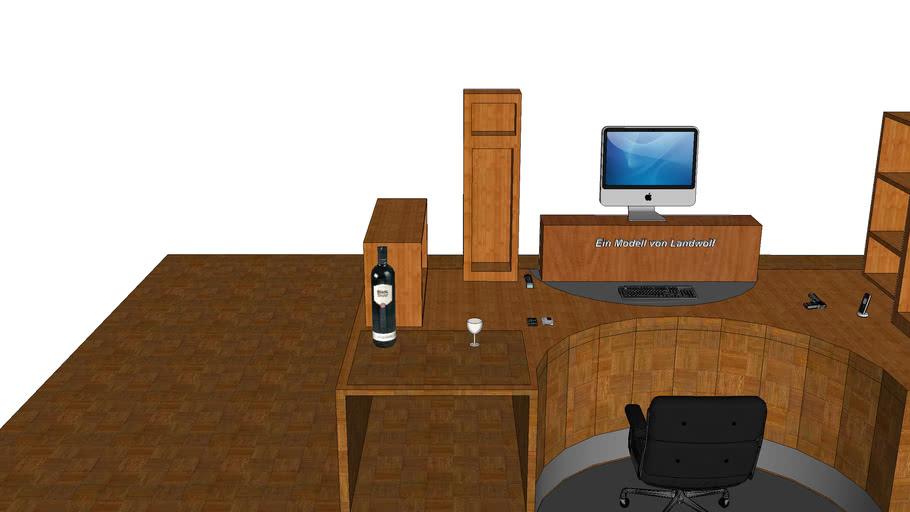 Schreibtisch des Mafiabosses