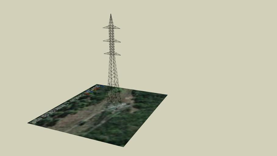 Apoyo alta tensión 220 kV t-32
