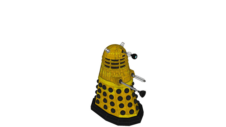 2005 dalek with day and frontier supreme colours