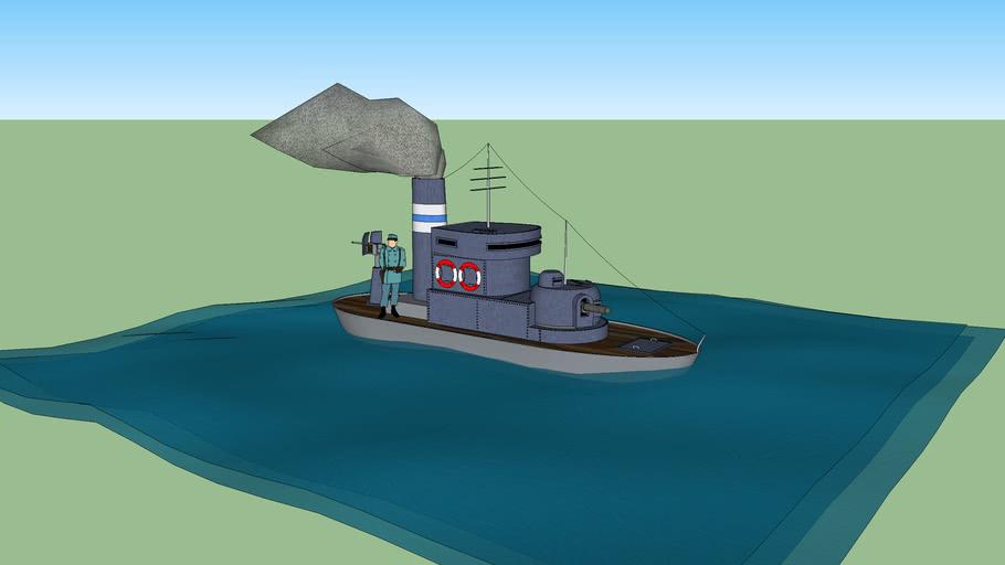 Burbork Class River boat