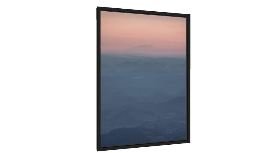 Quadro Pôr do sol na serra - Galeria9, por HitTheRoadFred