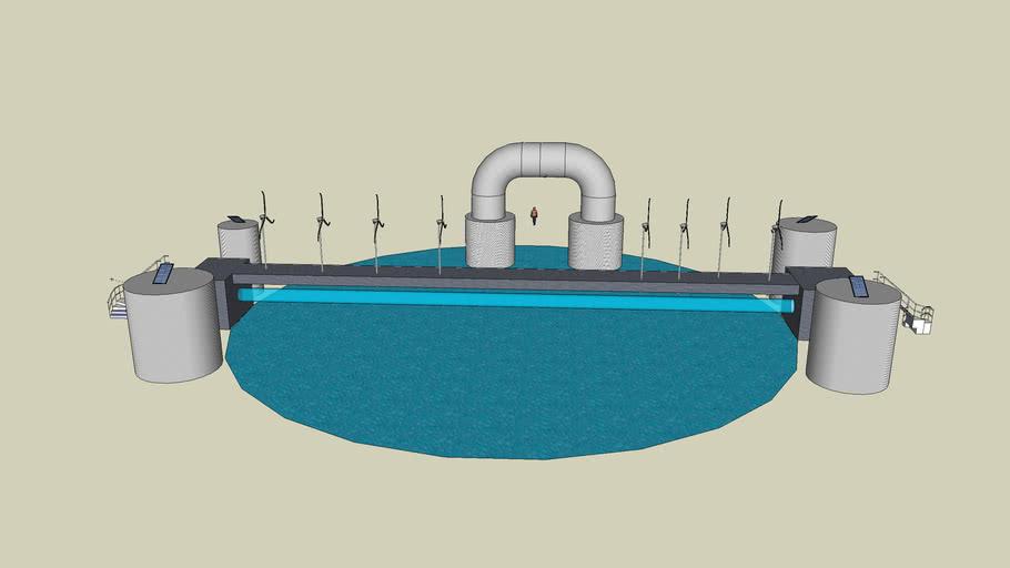 Centro di depurazione d'acqua