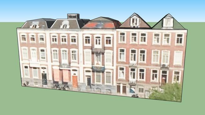 Gebouw in 1018 GT Amsterdam, Nederland