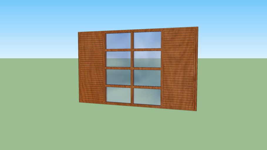janela comum, regular window
