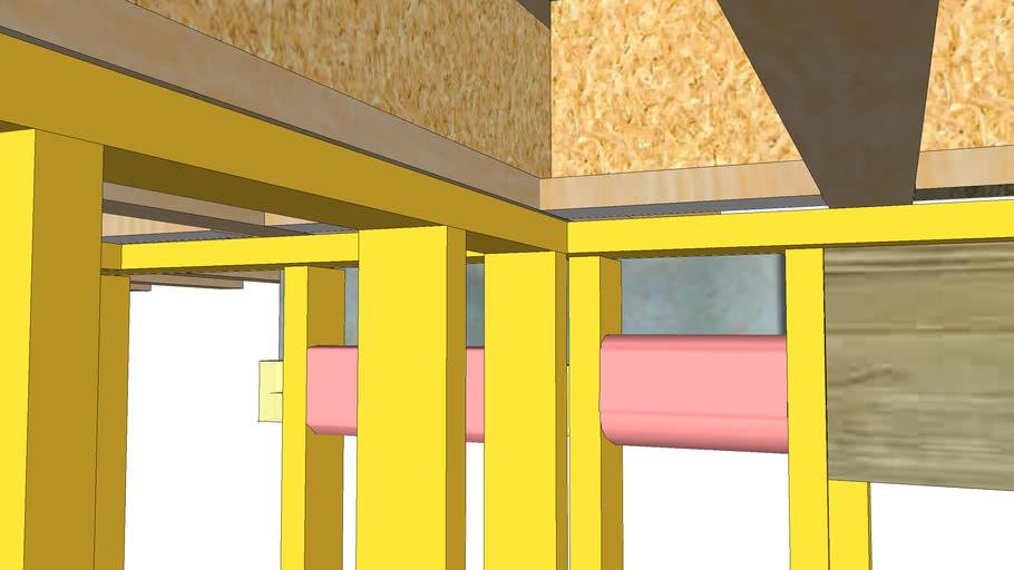 basement framing model