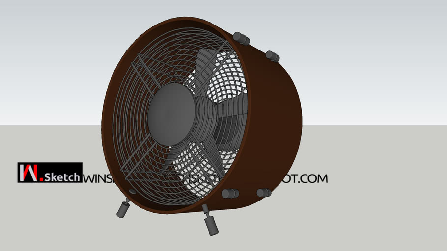 Ventilador Antigo (Classic Fan) 01