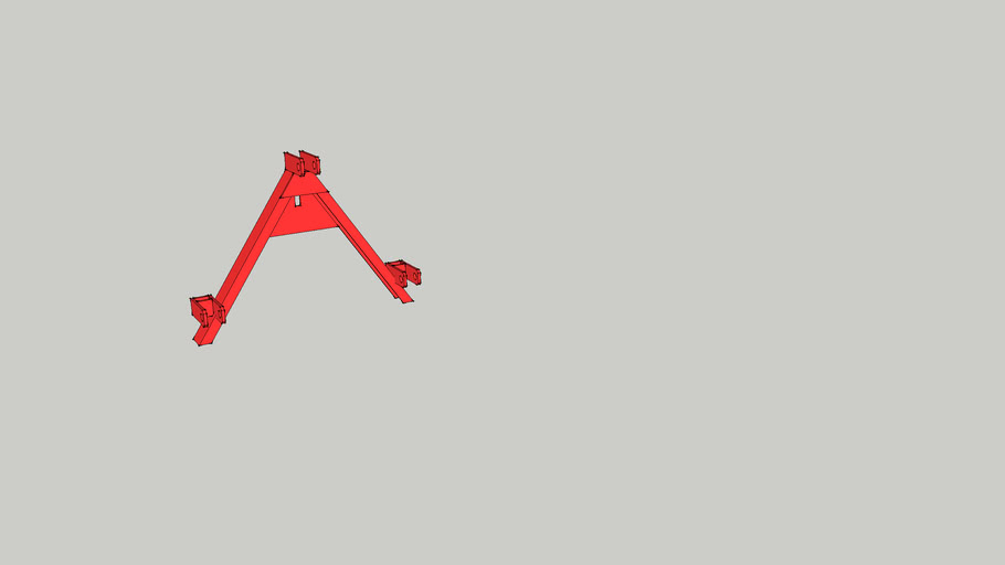 3 point linkage a frame sketchup 7